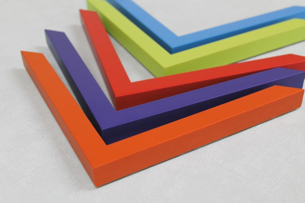Colour cubes frames | Made to measure picture frames