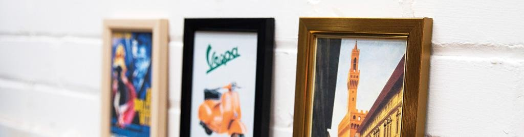 Linear picture frames | bespoke picture and art framing