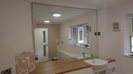 Made to measure mirror |  picture framing Bristol | bespoke mirrors | cut to measure | picture framer