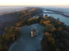 Enchantment, 2 | Ref: JW 004 | aerial photography | Blaise Castle from above | framing photography | framed fine art