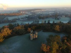 Enchantment, 3 | Ref : JW 028 | Blaise Castle Bristol | green scenery | aerial photography | picture framer Bristol