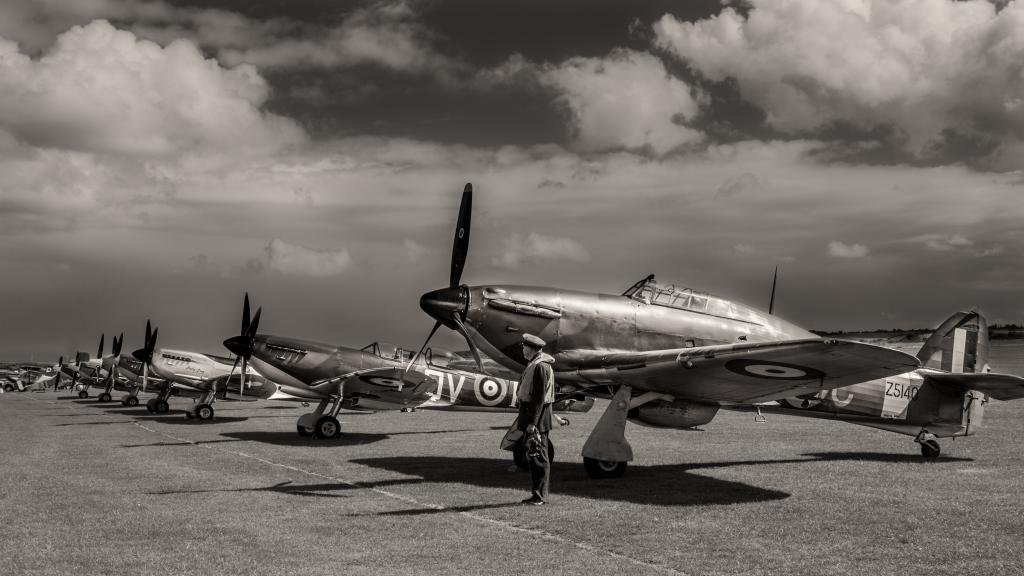 RD 037 -  - Spitfires - military aeroplanes - a